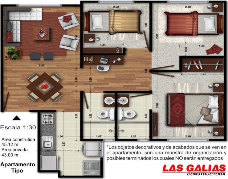 Parques de san cristobal apartamentos bogota for Apartamentos nuevos en bogota
